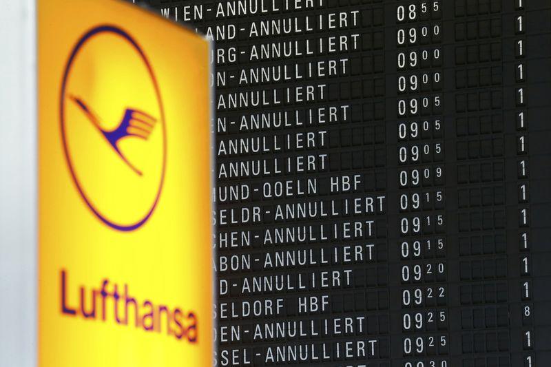 Nouvelle journée de grève vendredi — Lufthansa