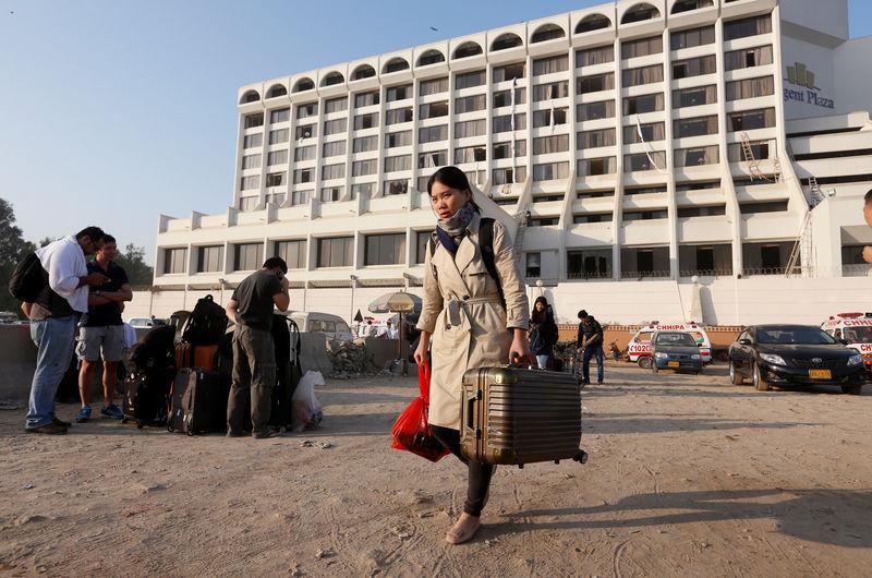 Pakistan: Incendie dans un hôtel de Karachi: 11 morts, 75 blessés