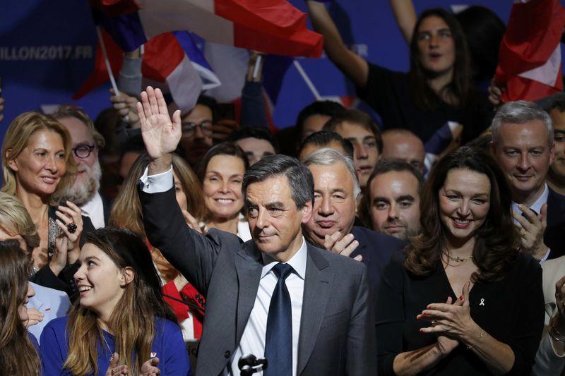 Primaire : François Fillon l'emporte avec 69,5 % selon des résultats partiels