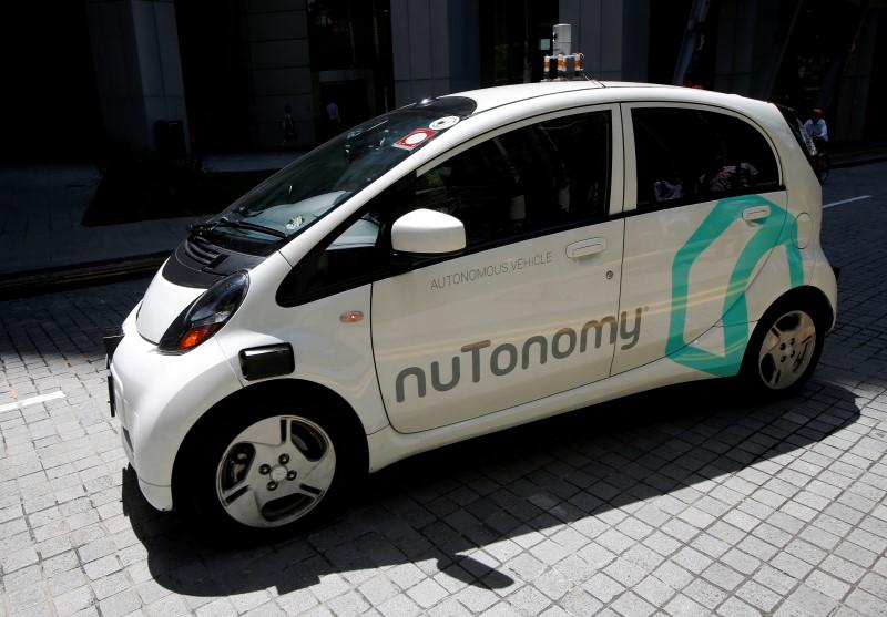 Singapour teste des taxis sans chauffeur en première mondiale