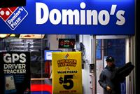 Domino's Pizza : chaude chaude la pizza à Wall Street