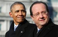 Barack Obama François Hollande