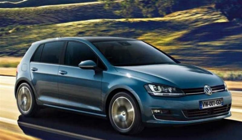 la volkswagen golf reste la voiture la plus vendue en europe. Black Bedroom Furniture Sets. Home Design Ideas