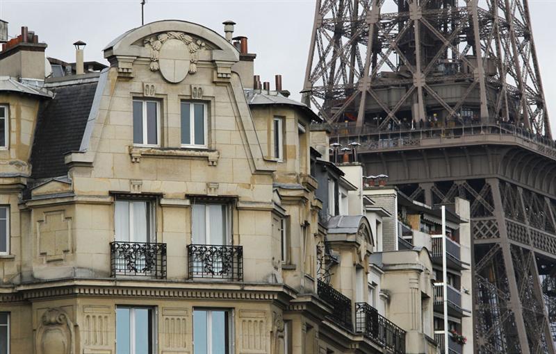 Immobilier 7 arrondissements parisiens encore au dessus for Chambre de 7 metre carre