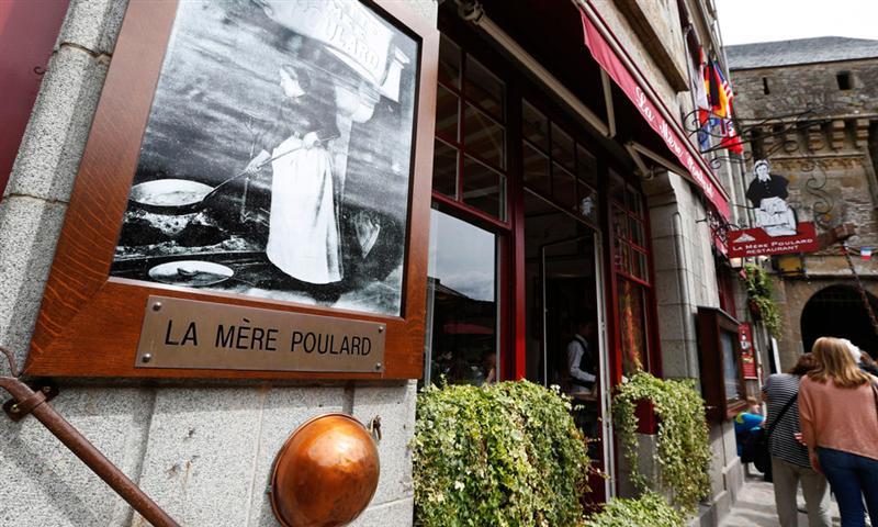 Le restaurant 'La Mère Poulard' épinglé par TripAdvisor