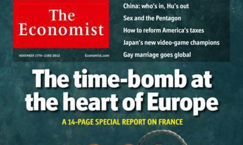 Selon 'The Economist', la France est une 'bombe à retardement'