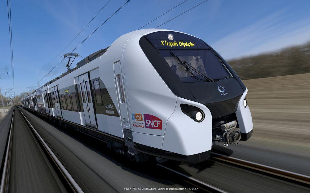 Retenu avec Bombardier pour le réseau francilien — Alstom