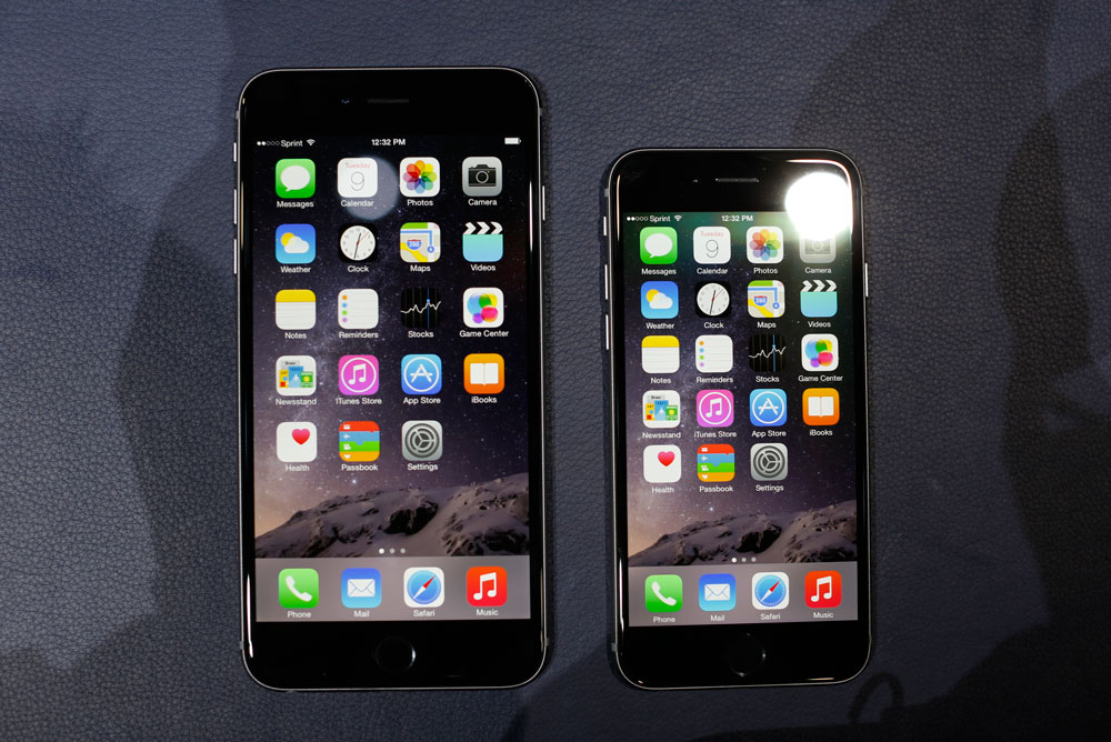 iPhone 6 Plus et iPhone 6 Apple