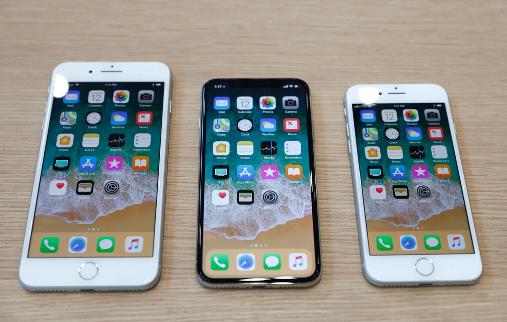 iPhone X et iPhone 8 et 8Plus