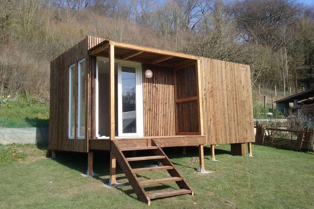 Le studio de jardin en bois, une solution simple pour