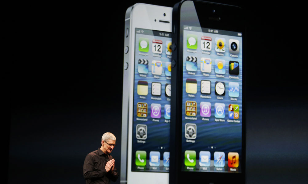 iPhone 5, Apple, Tim Cook