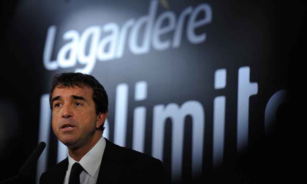 Bond du bénéfice annuel de Lagardère, aidé par des cessions