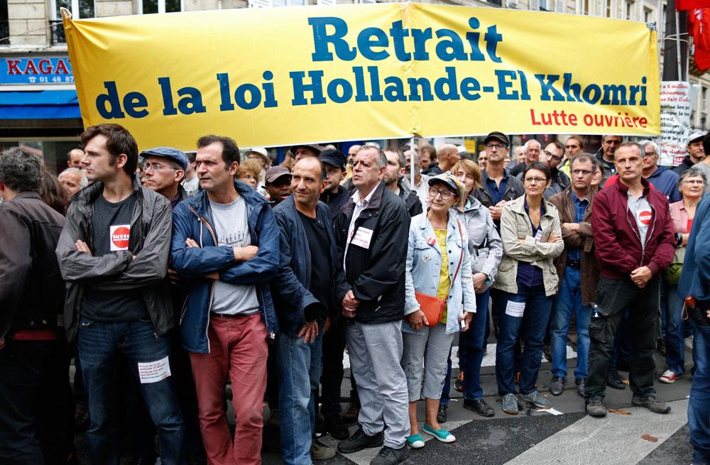 Nouvelles violences à Paris contre la loi Travail
