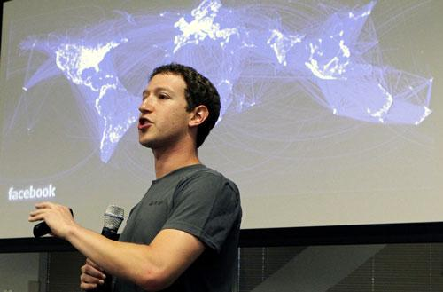 Mark Zuckerberg co-fondateur Facebook
