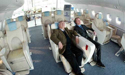 Les passagers favorables aux taxes pour les ob ses en avion for L interieur d un avion