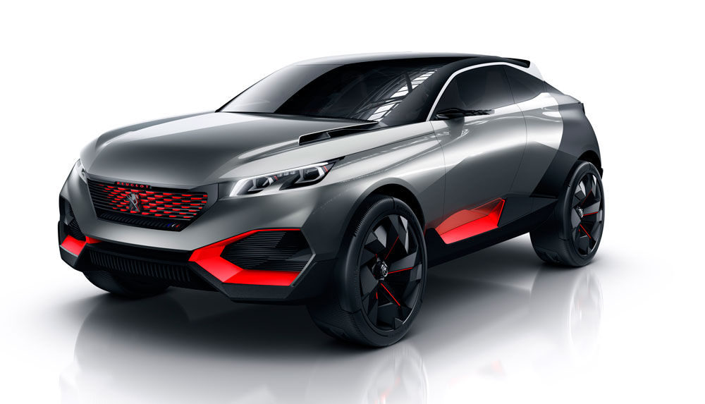 Peugeot quartz un nouveau concept car de suv haut de gamme - Robot menager haut de gamme ...