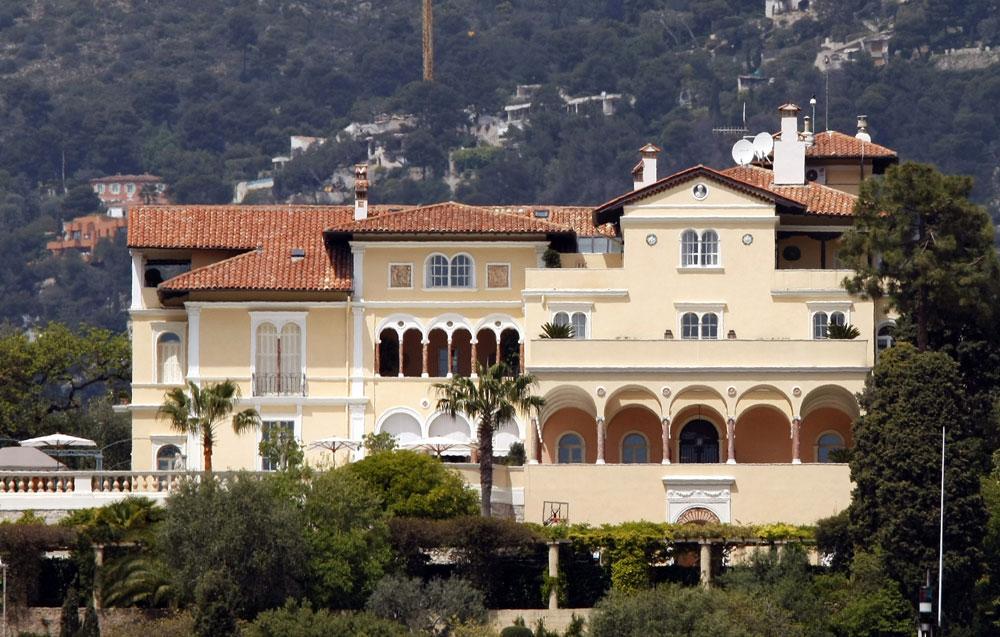 Immobilier la villa les c dres saint jean cap ferrat pourrait battre tous les records - La villa berkel par paul de ruiter ...