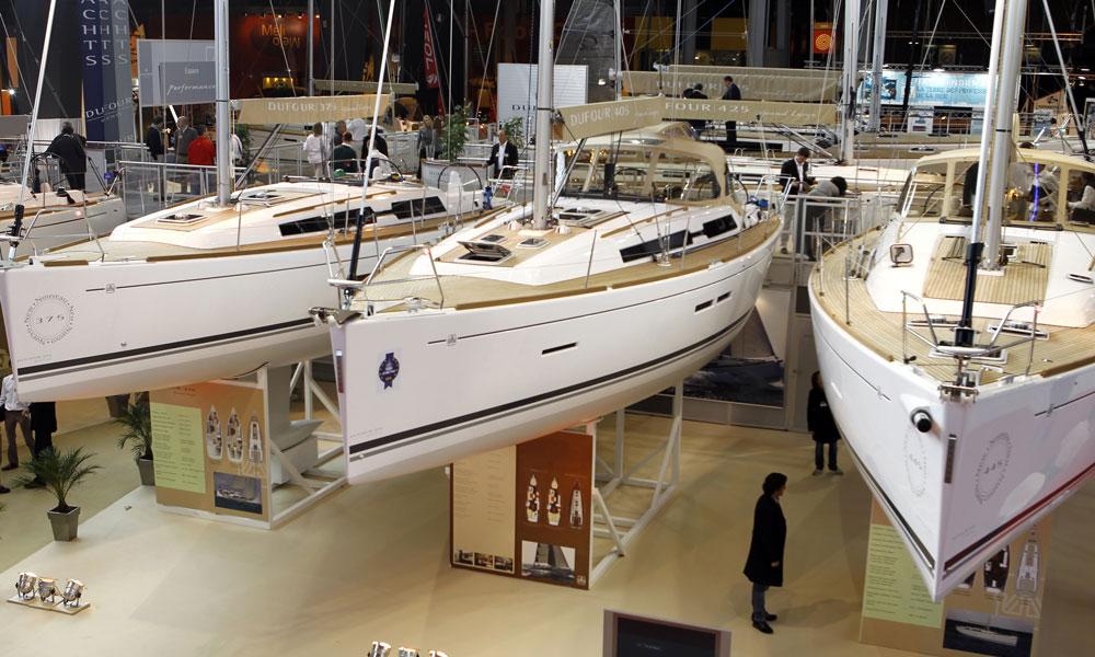 Economie bateaux attendus au salon nautique de for Porte de versailles salon nautique