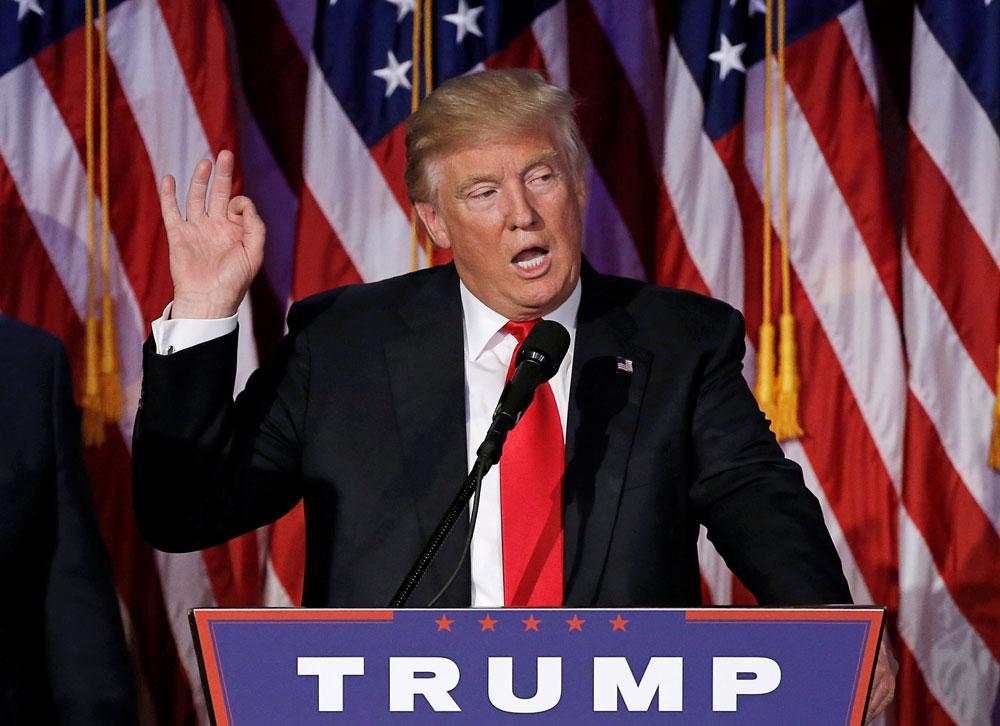 Wall Street fête Trump avec un record historique