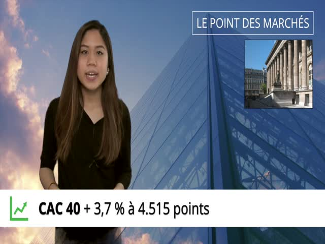 Point hebdo : le CAC40 reprend 3,7%