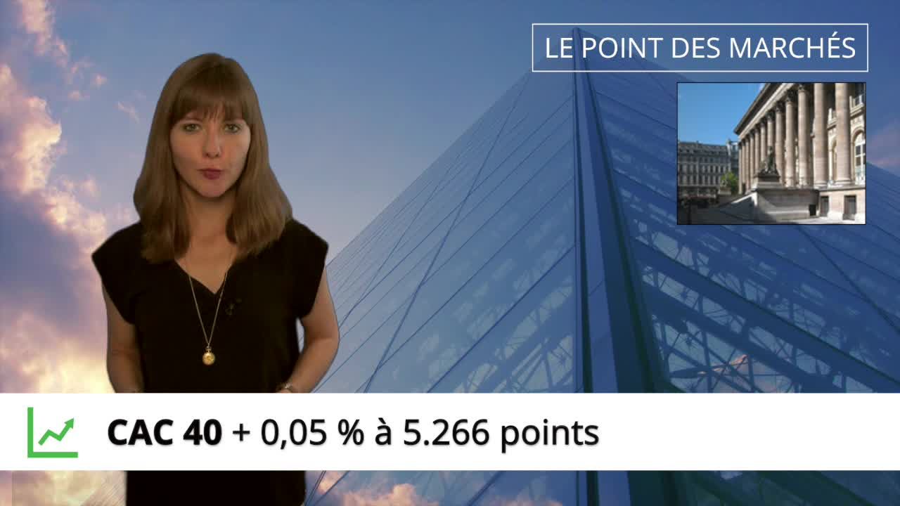 Point hebdo : le CAC40 quasiment stable